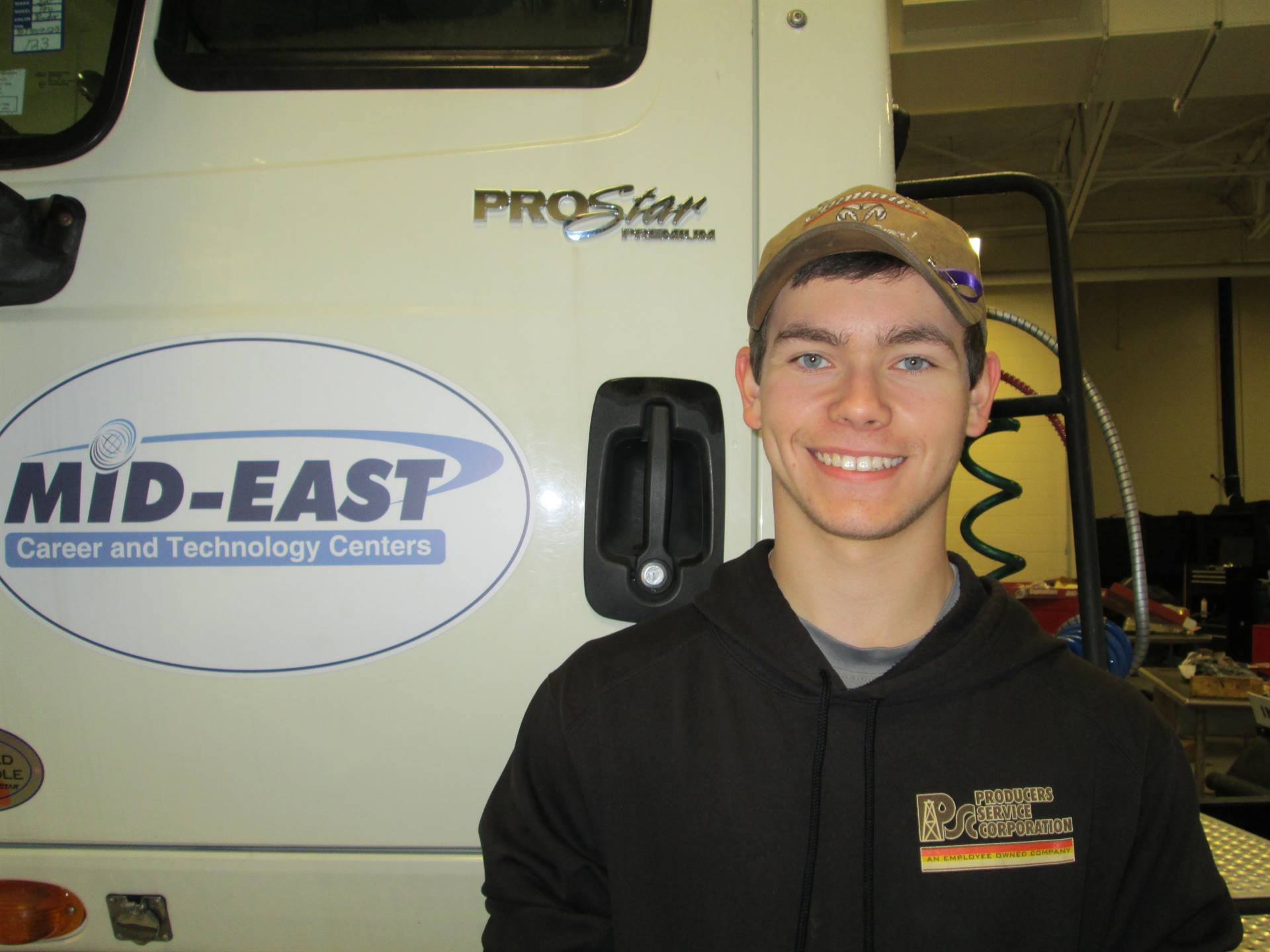 Austin Anderson - Diesel Technology - Producers Service Corp.