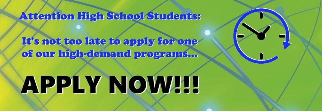 HS Students Apply Now!
