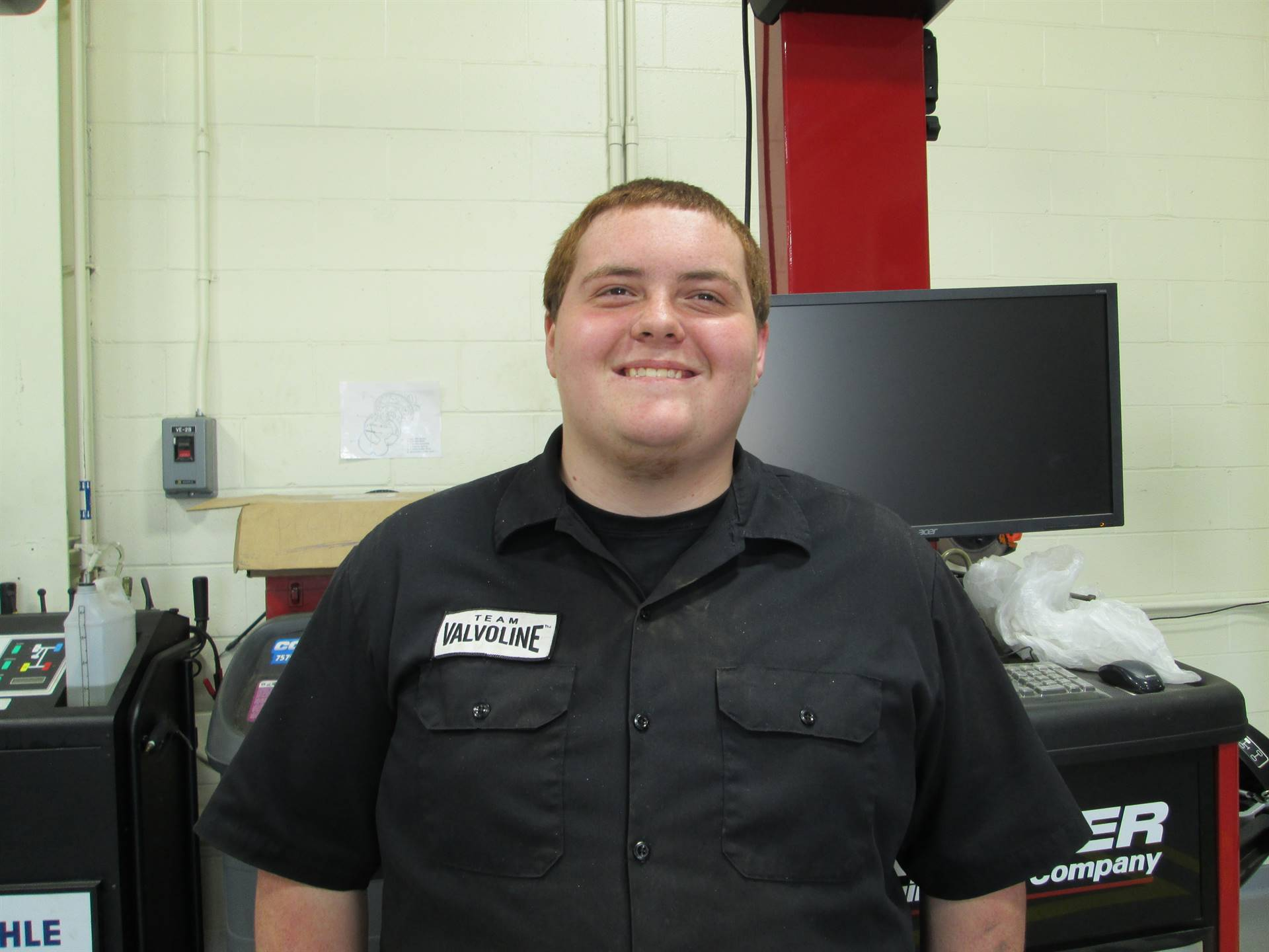 Austin Newby - Auto Technology - Dunning Ford